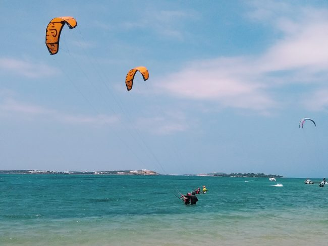 Kitesurfing Beginner Level